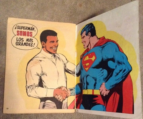 superman vs muhamed ali ,1978