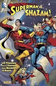superman vs. shazam - thomas - dc comics
