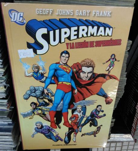 superman y la legion de superhéroes