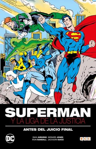 superman y la liga de la justicia libro ecc españa tapa dura