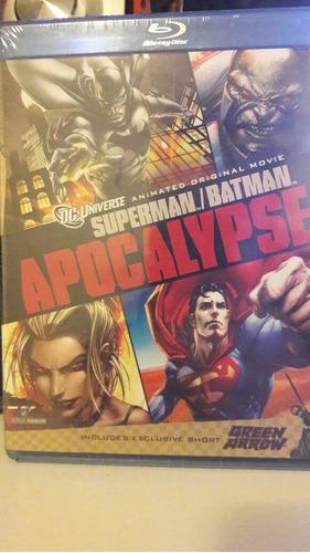 superman/batman apocalypse en bluray