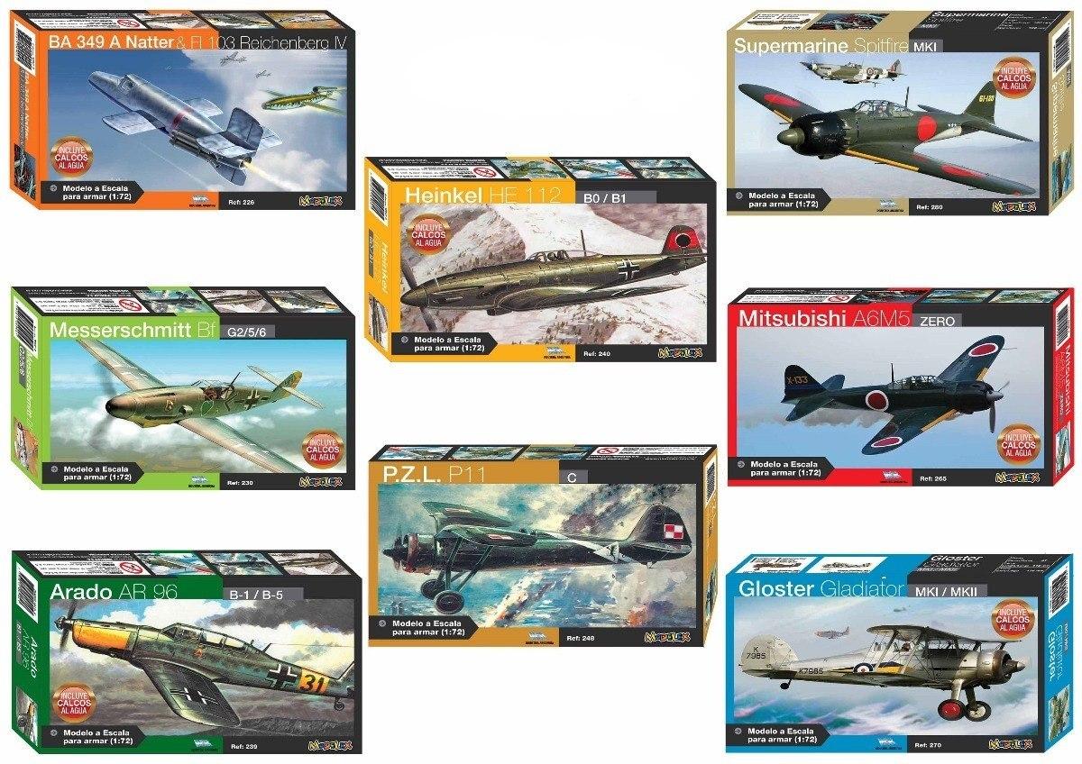 Supermarine Spitfire Mk1 Maqueta Para Armar Modelex 1:72