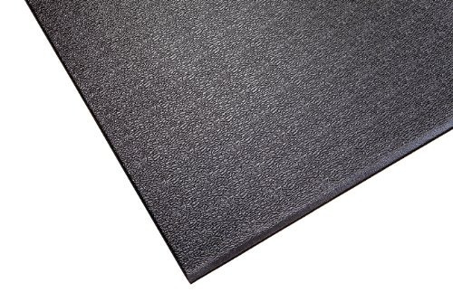 supermats solid p.v.c. tapete para máquinas de remo (3 pies