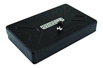 supermax bloqueo con llave universal vault, negro