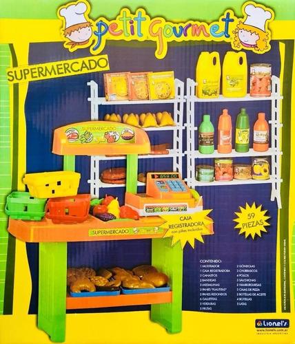 supermercado juguete registradora petit gourmet lionels