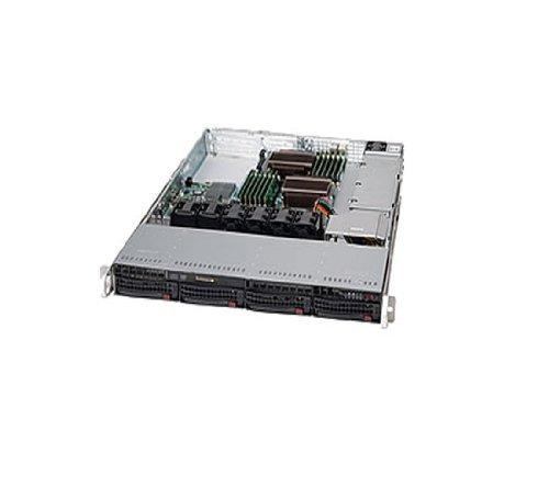 supermicro 600 watt 1u rackmount server chaasis (cse-815t...
