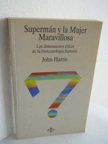 supermñan y la mujer maravillosa - john harris