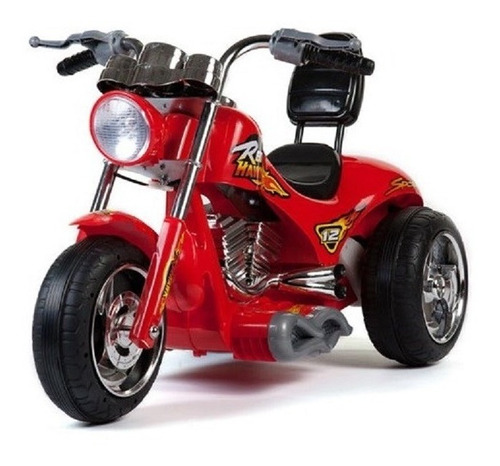 supermoto 12v choppera 3 ruedas para niño