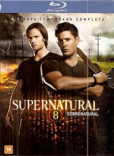 supernatural: 8º temporada completa (blu-ray)