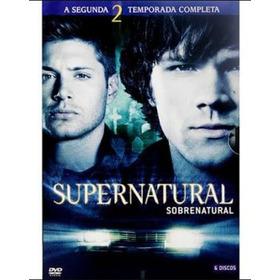 Supernatural :box   2ª Temporada (6 Dvds)