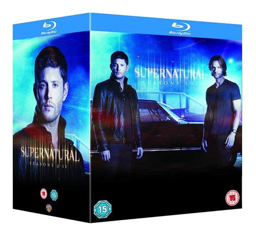 supernatural box set completo. temporadas 1 a 13