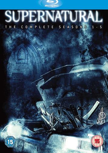 supernatural edición de colección blu-ray 5 temporadas