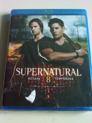 supernatural octava temporada blu ray disc nuevo nacional