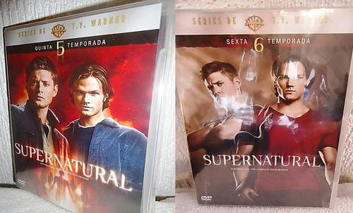 supernatural paquete temporadas 1 2 3 4 5 6 7 8 9 serie dvd