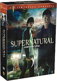 supernatural - primeira temporada box lacrado