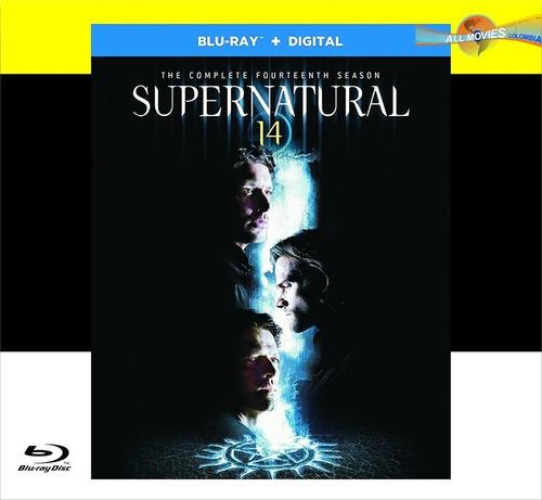 supernatural: temporada 14-  blu-ray original!