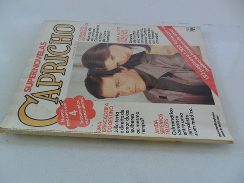 supernovelas capricho nº 449a! ed. abril 25 jan 1978!
