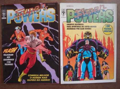 superpowers nºs 5 ao 37 ed. abril formatinho