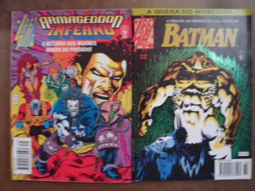 superpowers nºs 5 ao 37 ed. abril preço para 4 gibis