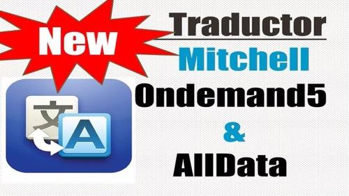 superpromo alldata + michell + auto data + traductor español
