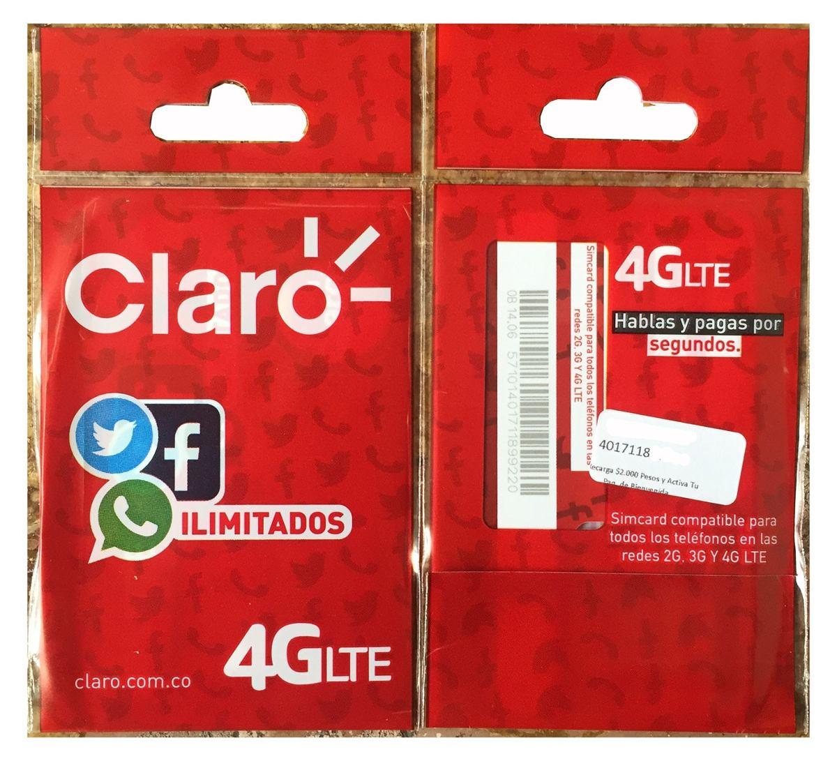 Superpromo Sim Card 4g Lte Facebook Whatsapp Ilimitado 6x4