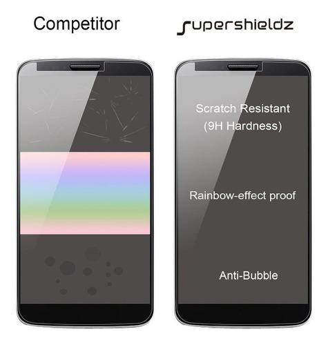 supershieldz para htc desire 625 pantalla de cristal templad