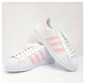dc62dd4d09 Tenis Adidas Foundation Rosa E Branco Feminino - Calçados
