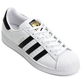 6c42b35dfe Tenis Adidas Todo Preto Superstar Feminino - Calçados