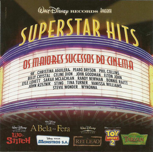 superstar hits chistina aguilera phil collins billy cristal