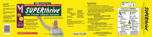 superthrive - hormônios e vitaminas para plantas 120ml