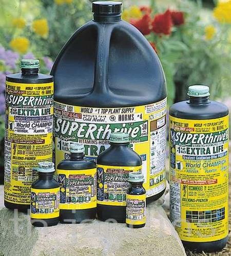 superthrive - vitaminas e hormônios para sementes e plantas