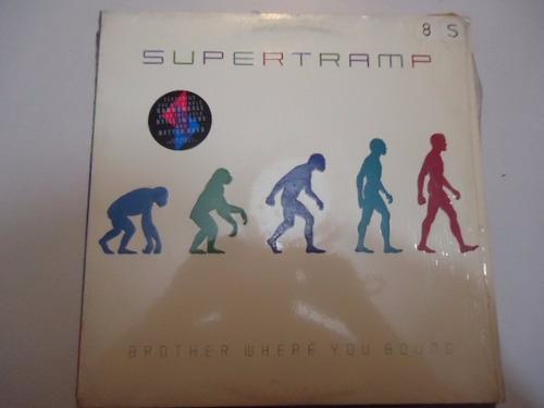 supertramp / brother where you bound vinyl lp acetato