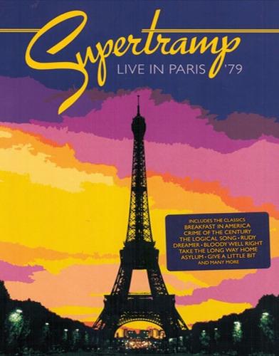 supertramp live in paris 79 dvd nuevo original roger hodgson