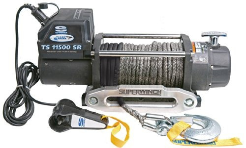 superwinch 1511201 tiger shark 12v winch con aluminio hawse