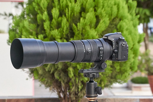 superzoom sigma 150-500mm f5-6.3 os -para nikon d600 d750 d810 d7000