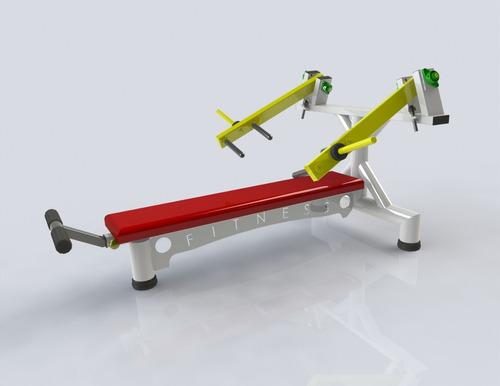 supino articulado horizontal - apenas projeto