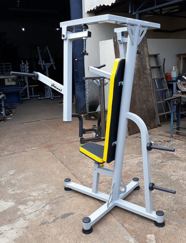supino vertical articulado chest press lander hornet fitness