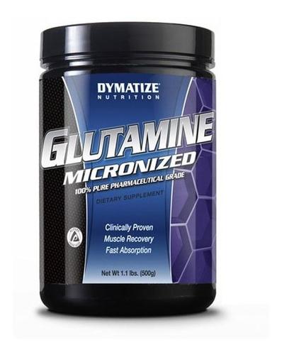 suplemento aminoacido dymatize glutamine powder 500 gr
