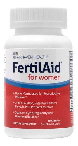 suplemento de fertilidad para las mujeres fertilaid 90 caps