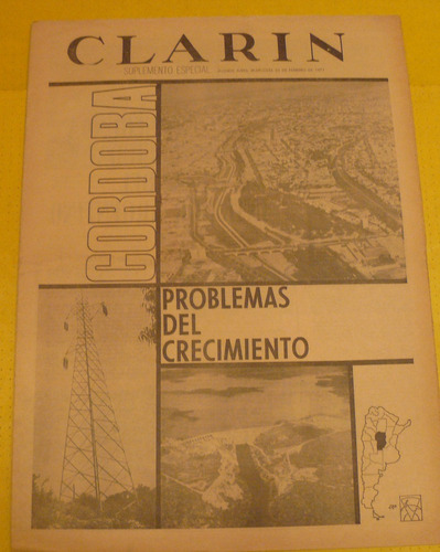 suplemento diario clarin cordoba y su crecimiento 24-02-71