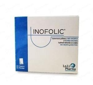 suplemento dietario inofolic fertilidad femenina x30 sobres