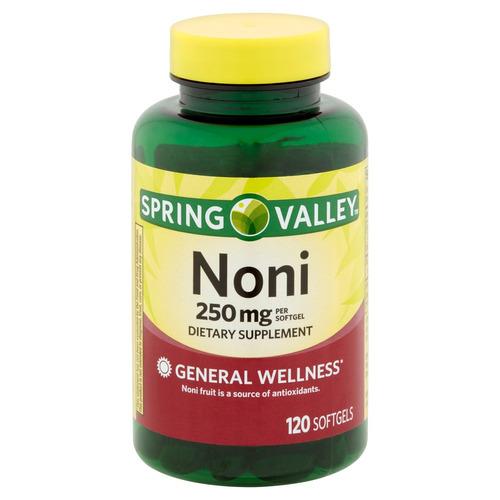 suplemento dietético de noni 250 mg spring valley 120