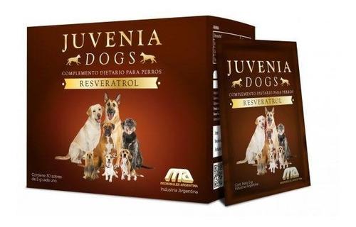 suplemento juvenia perros vitaminas resveratrol