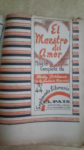 suplemento literario del 23 al 48, diario el país, 1939