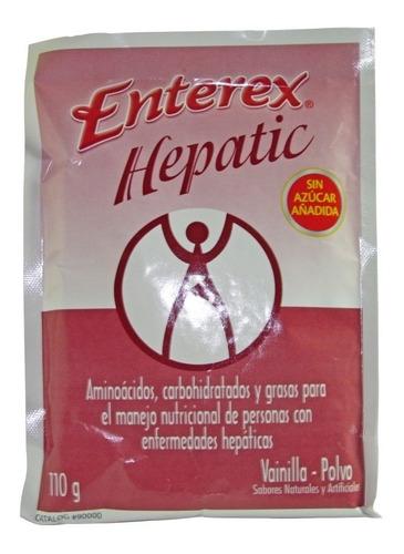 suplemento nutricional enterex hepatic sobre x 110g  vainill