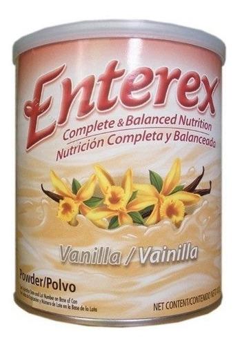 suplemento nutricional enterex polvo vainilla lata x 400gr