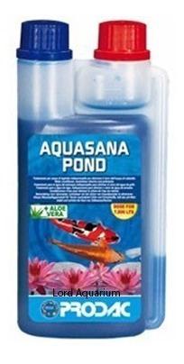 suplemento prodac condicionador de água aquasana pond 500ml