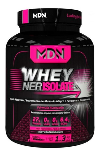 suplemento proteina mdn wheyner isolate 3 lbs chocolate