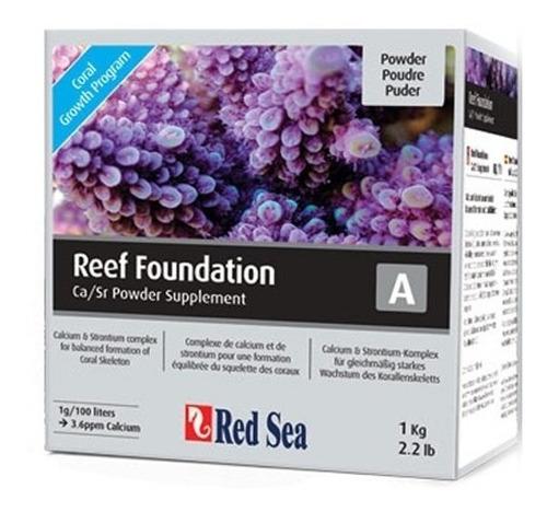suplemento red sea marinho reef foundation a 1kg cálcio