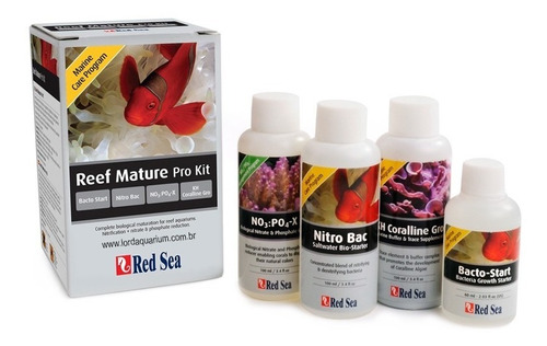 suplemento red sea mature pro kit (com 4 suplementos)